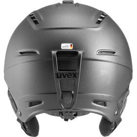 UVEX P1Us 2.0 Casco, black met mat